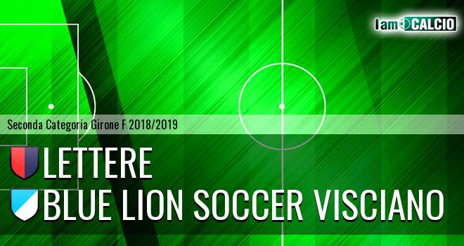 Lettere - Blue Lion Soccer Visciano
