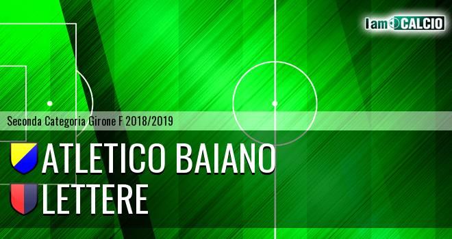 Atletico Baiano - Lettere