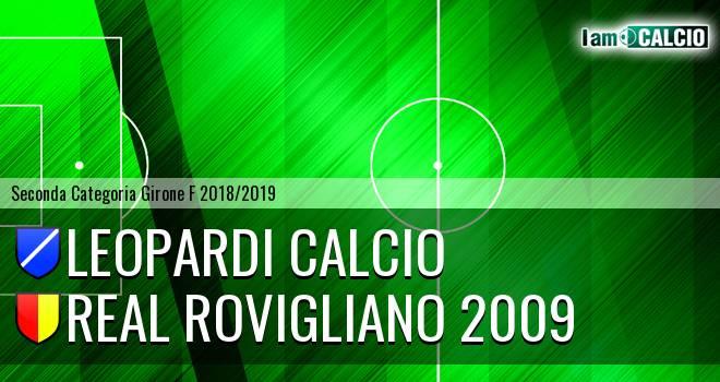 Leopardi Calcio - Real Rovigliano 2009