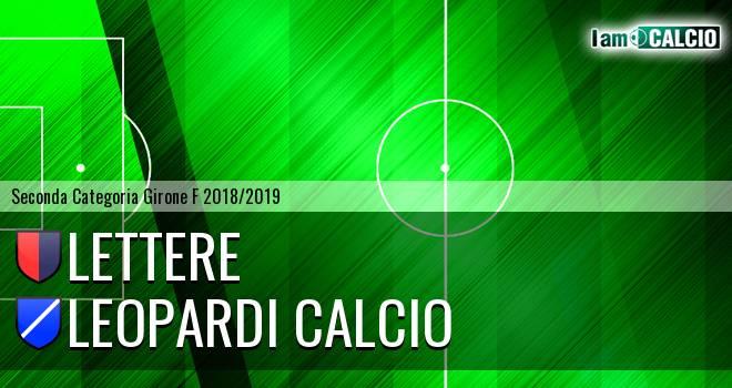 Lettere - Leopardi Calcio