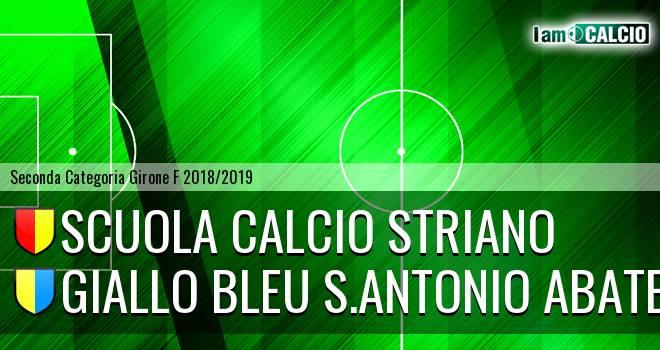 Scuola Calcio Striano - Giallo Bleu S.Antonio Abate