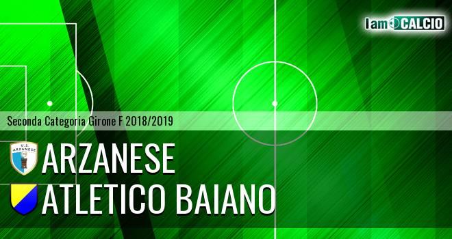 U.S. Arzanese - Atletico Baiano