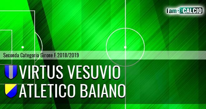 Virtus Vesuvio - Atletico Baiano