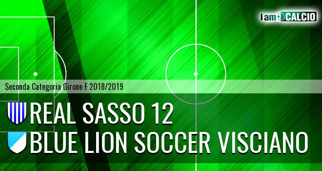 Real Sasso 12 - Blue Lion Soccer Visciano