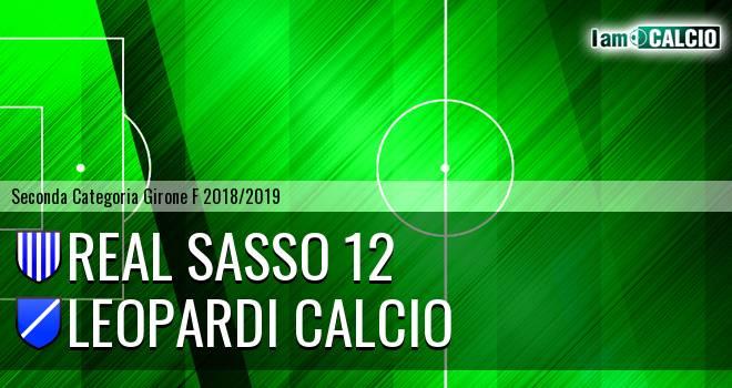 Real Sasso 12 - Leopardi Calcio