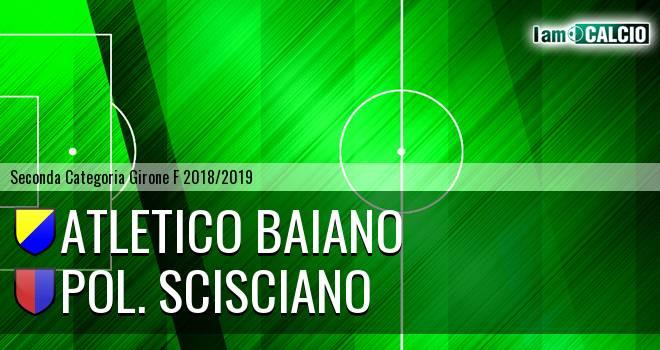 Atletico Baiano - Pol. Scisciano