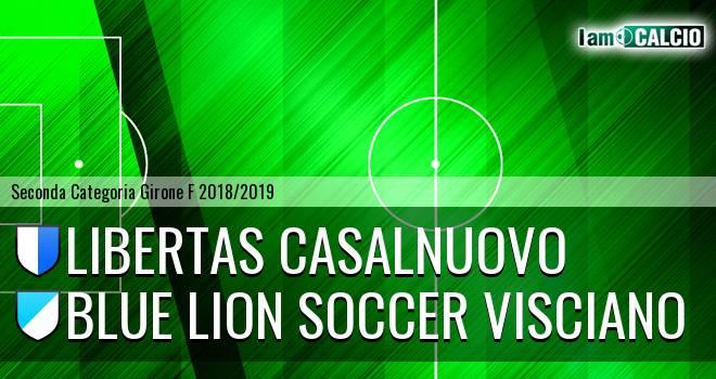 Libertas Casalnuovo - Blue Lion Soccer Visciano