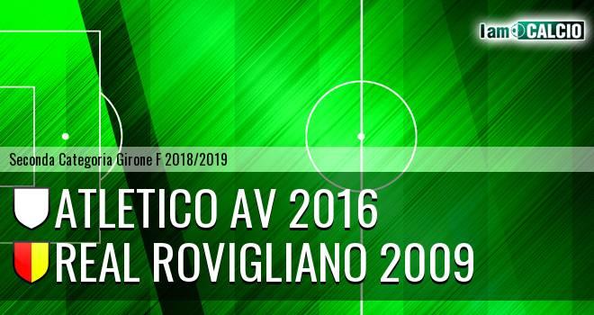 Atletico AV 2016 - Real Rovigliano 2009