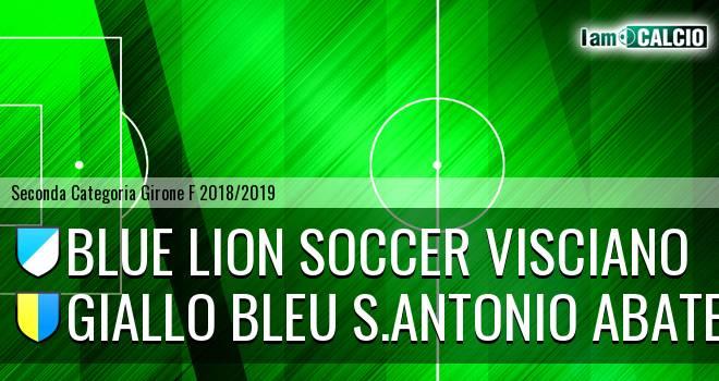 Blue Lion Soccer Visciano - Giallo Bleu Gragnano