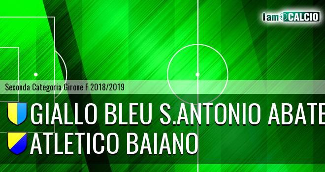 Giallo Bleu S.Antonio Abate - Atletico Baiano
