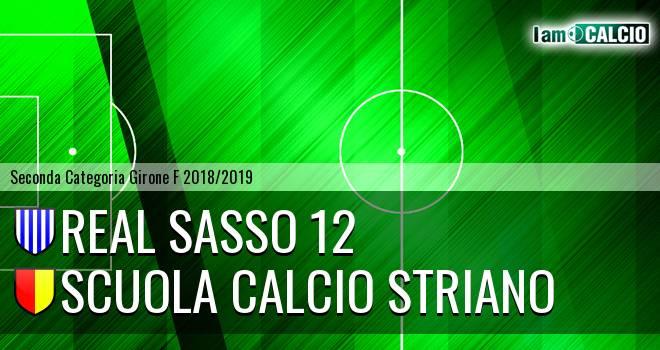 Real Sasso 12 - Scuola Calcio Striano