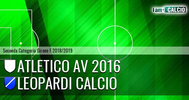 Atletico AV 2016 - Leopardi Calcio