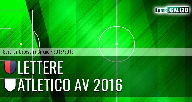 Lettere - Atletico AV Marzano