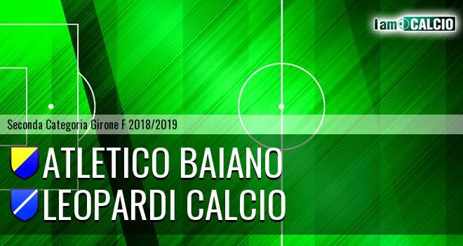 Atletico Baiano - Leopardi Calcio