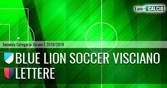 Blue Lion Soccer Visciano - Lettere