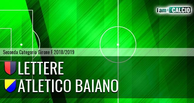 Lettere - Atletico Baiano