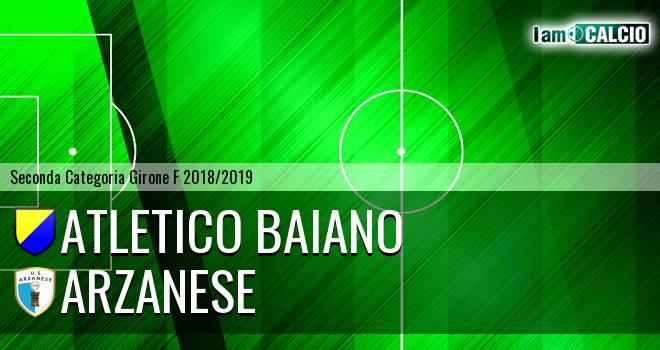 Atletico Baiano - Arzanese 1924