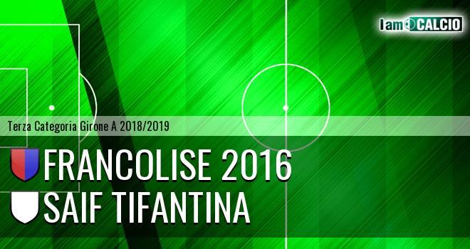 Francolise 2016 - SAIF Tifantina