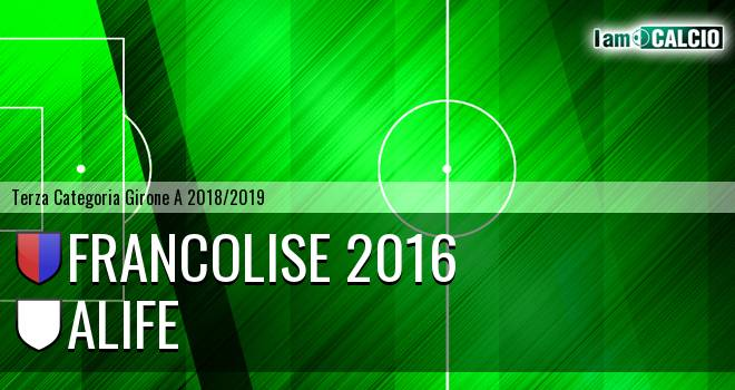 Francolise 2016 - Alife