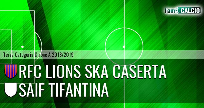 RFC Lions Ska Caserta - SAIF Tifantina