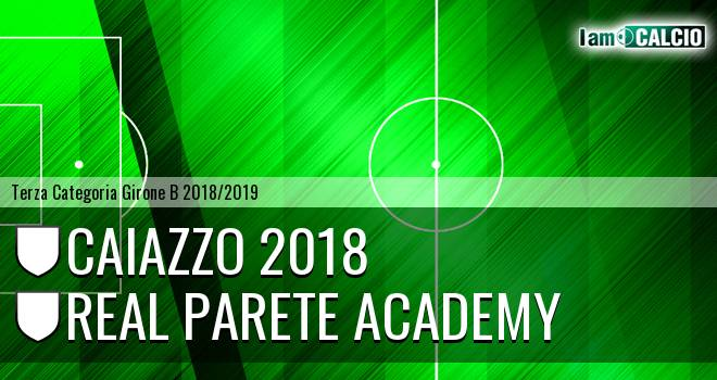 Caiazzo 2018 - Real Parete Academy