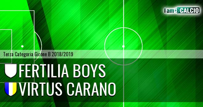 Fertilia Boys - Virtus Carano