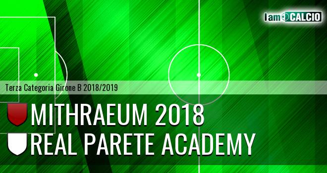 Mithraeum 2018 - Real Parete Academy