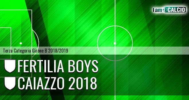 Fertilia Boys - Caiazzo 2018