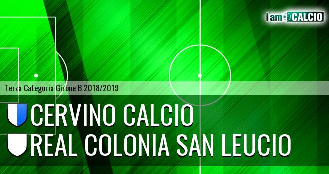 Cervino Calcio - Real Colonia San Leucio