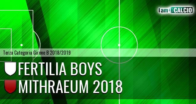 Fertilia Boys - Mithraeum 2018
