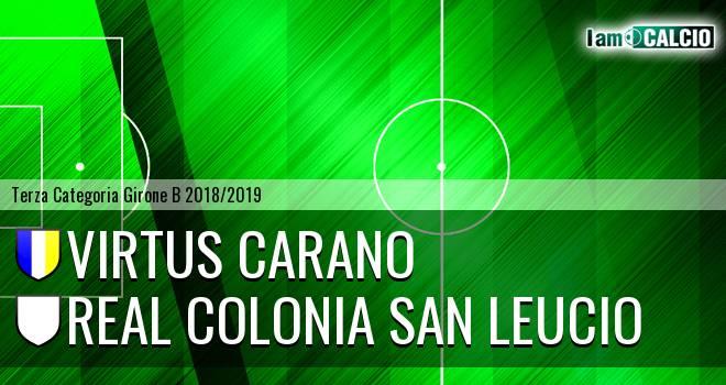 Virtus Carano - Real Colonia San Leucio