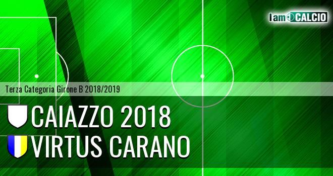 Caiazzo 2018 - Virtus Carano