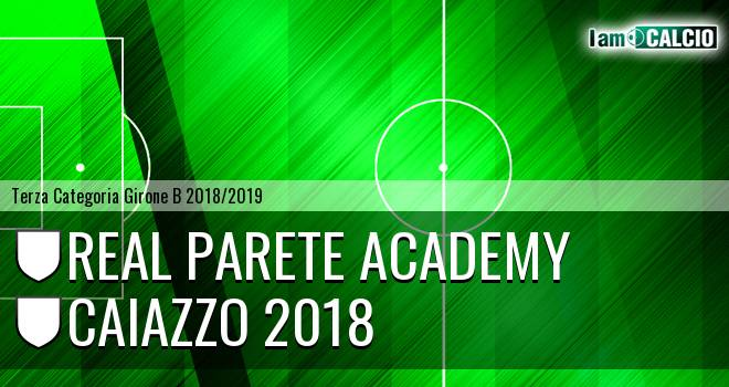 Real Parete Academy - Caiazzo 2018