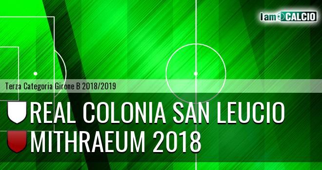 Real Colonia San Leucio - Mithraeum 2018