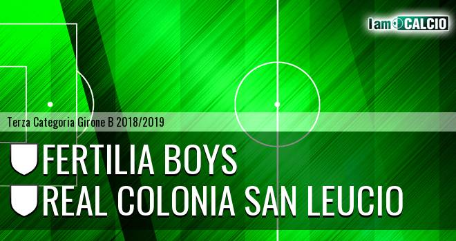 Fertilia Boys - Real Colonia San Leucio