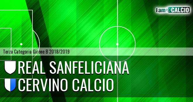Real Sanfeliciana - Cervino Calcio