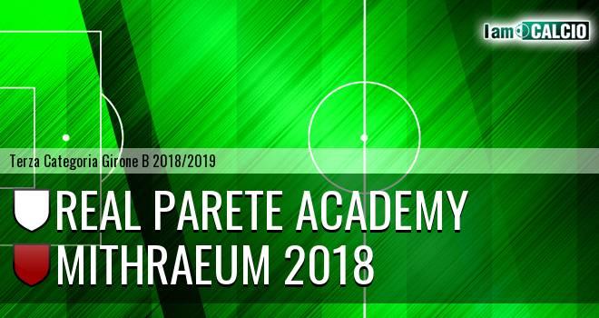 Real Parete - Mithraeum 2018