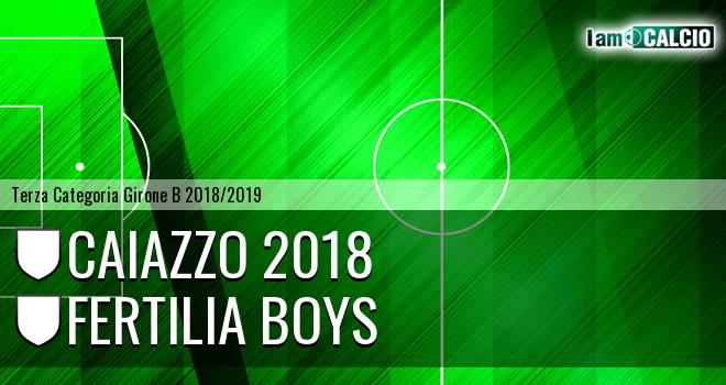 Caiazzo 2018 - Fertilia Boys