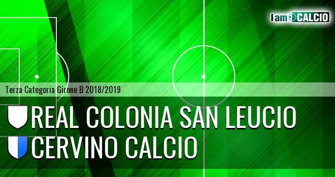 Real Colonia San Leucio - Cervino Calcio