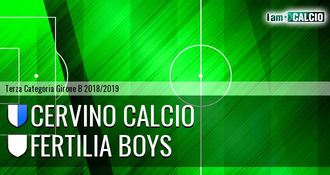 Cervino Calcio - Fertilia Boys