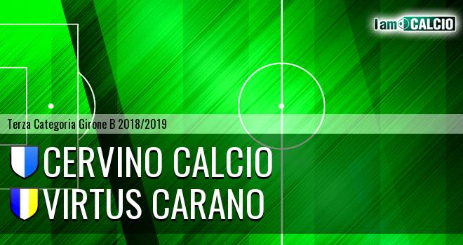 Cervino Calcio - Virtus Carano
