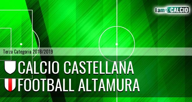 Calcio Castellana - Football Altamura