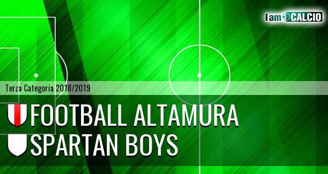 Football Altamura - Spartan Boys