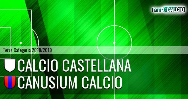 Calcio Castellana - Canusium Calcio