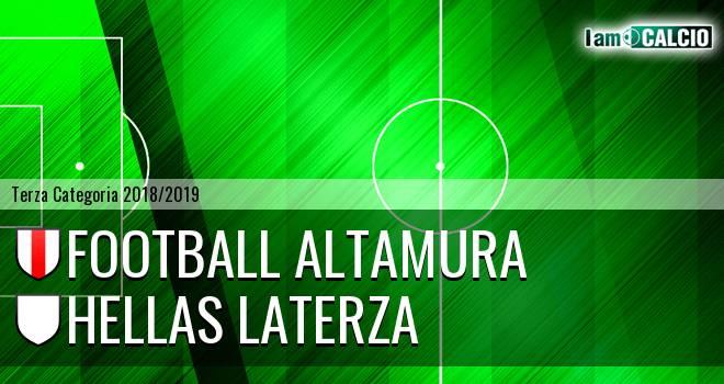 Football Altamura - Hellas Laterza