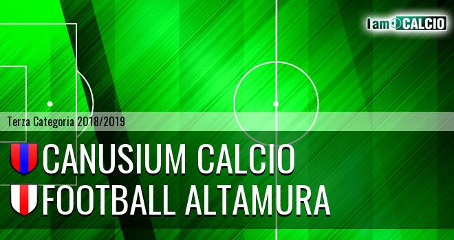 Canusium Calcio - Football Altamura