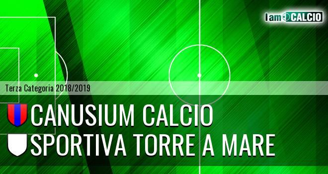 Canusium Calcio - Sportiva Torre a Mare