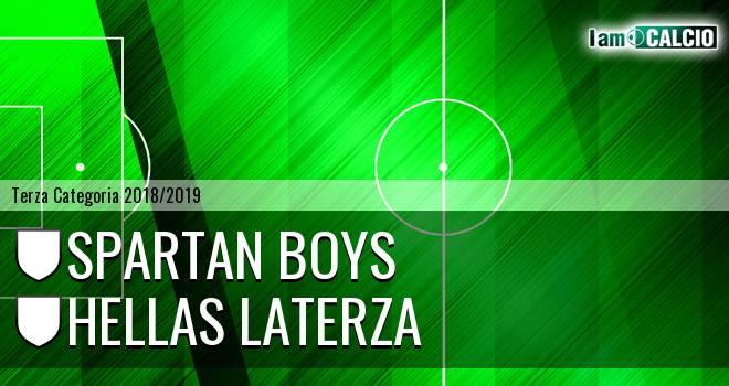 Spartan Boys - Hellas Laterza