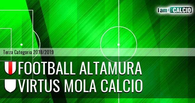 Football Altamura - Virtus Mola Calcio