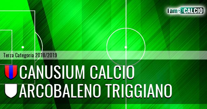 Canusium Calcio - Arcobaleno Triggiano